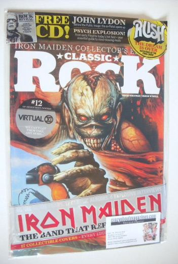 <!--2015-10-12-->Classic Rock magazine - October 2015 - Iron Maiden cover (