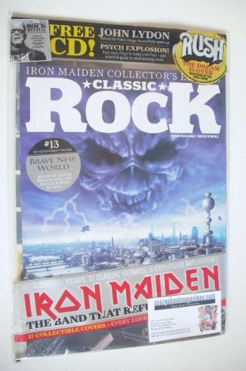 <!--2015-10-13-->Classic Rock magazine - October 2015 - Iron Maiden cover (
