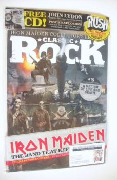 Classic Rock magazine - October 2015 - Iron Maiden cover (15/17)