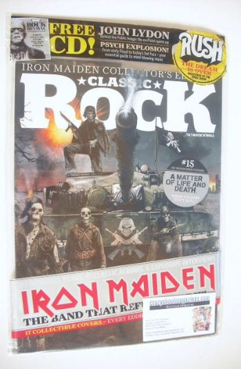 <!--2015-10-15-->Classic Rock magazine - October 2015 - Iron Maiden cover (