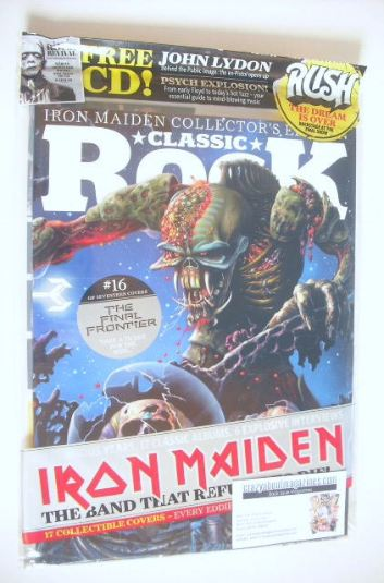 <!--2015-10-16-->Classic Rock magazine - October 2015 - Iron Maiden cover (
