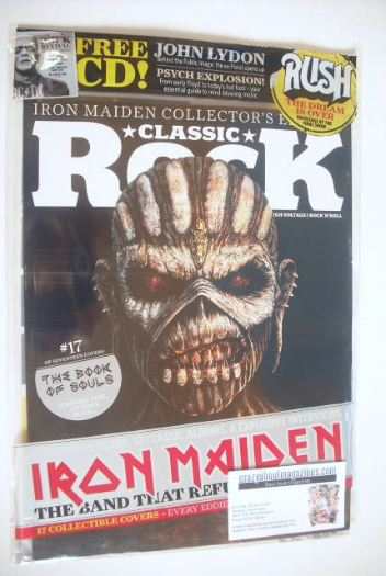 <!--2015-10-17-->Classic Rock magazine - October 2015 - Iron Maiden cover (