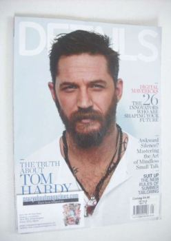 Details magazine - May 2015 - Tom Hardy cover