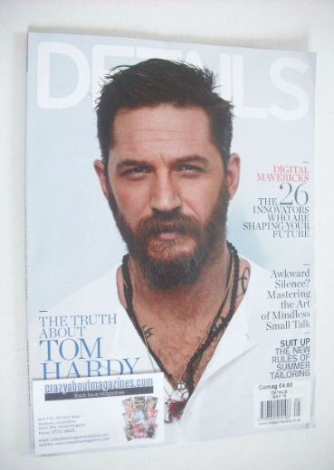 <!--2015-05-->Details magazine - May 2015 - Tom Hardy cover