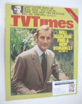 TV Times magazine - Gerald Harper cover (6-12 March 1976)