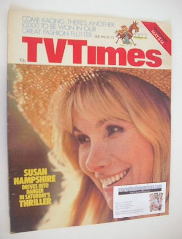 <!--1976-05-08-->TV Times magazine - Susan Hampshire cover (8-14 May 1976)