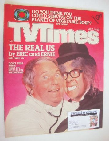 <!--1978-10-14-->TV Times magazine - Eric Morecambe and Ernie Wise cover (1