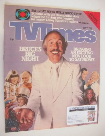 <!--1978-10-07-->TV Times magazine - Bruce Forsyth cover (7-13 October 1978