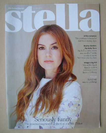 <!--2013-06-23-->Stella magazine - Isla Fisher cover (23 June 2013)