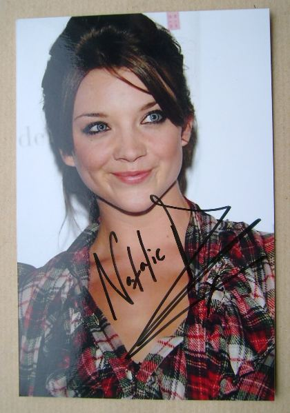 Natalie Dormer autograph