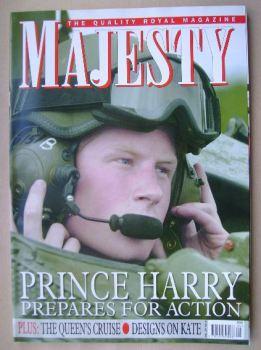 Majesty magazine - Prince Harry cover (September 2006 - Volume 27 No 9)