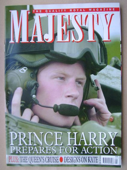 <!--2006-09-->Majesty magazine - Prince Harry cover (September 2006 - Volum