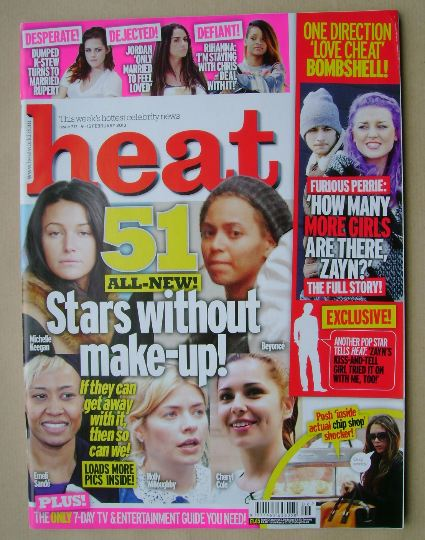 <!--2013-02-09-->Heat magazine - 9-15 February 2013