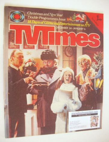 <!--1977-12-24-->TV Times magazine - Christmas issue (24 December 1977 - 6