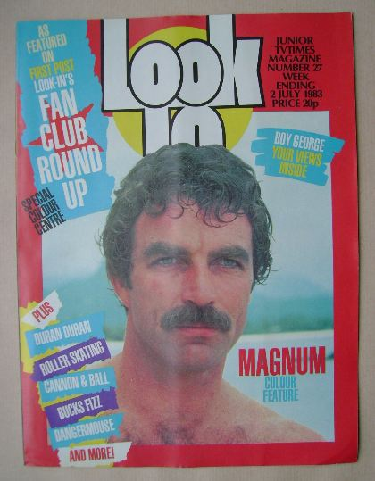 <!--1983-07-02-->Look In magazine - Tom Selleck cover (2 July 1983)