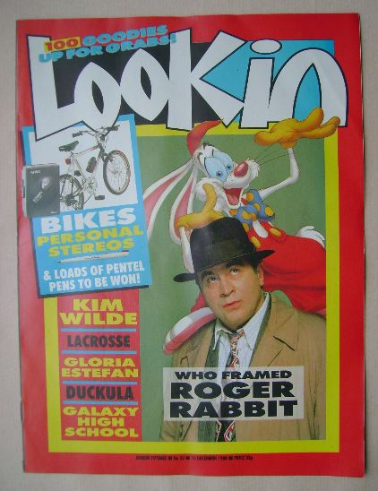 <!--1988-12-10-->Look In magazine - Bob Hoskins cover (10 December 1988)