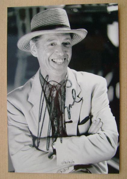 Georgie Fame autograph