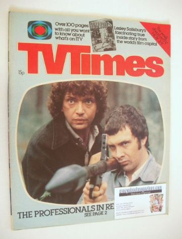 <!--1979-11-03-->TV Times magazine - Martin Shaw and Lewis Collins cover (3