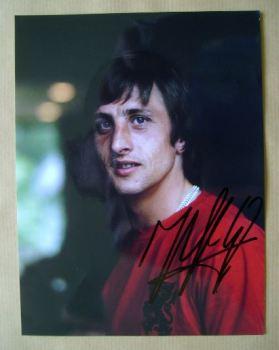 Johan Cruyff autograph