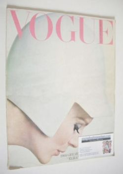 British Vogue magazine - January 1964 (Vintage Issue)