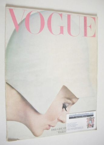<!--1964-01-->British Vogue magazine - January 1964 (Vintage Issue)