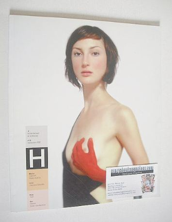 H magazine (No 36, September 2002 - Spanish publication)