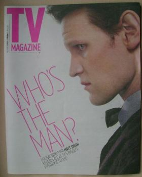 The Sun TV magazine - 18 May 2013 - Matt Smith cover