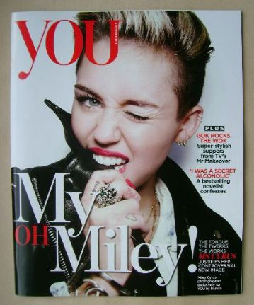 <!--2013-10-06-->You magazine - Miley Cyrus cover (6 October 2013)