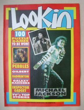 Look In magazine - Michael Jackson cover (21 May 1988)
