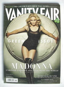 Vanity Fair magazine - Madonna cover (May 2008)