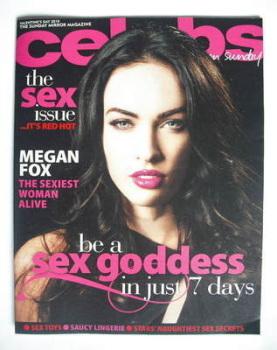 Celebs magazine - Megan Fox cover (14 February 2010)