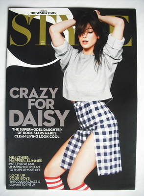 <!--2010-01-17-->Style magazine - Daisy Lowe cover (17 January 2010)