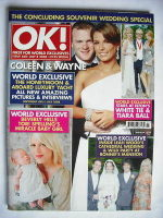 <!--2008-07-08-->OK! magazine - Wayne and Coleen Rooney cover (8 July 2008 - Issue 630)