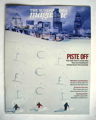 <!--2010-01-17-->The Sunday Times magazine - Piste Off cover (17 January 20