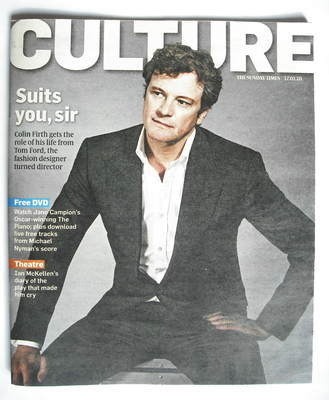 <!--2010-01-17-->Culture magazine - Colin Firth cover (17 January 2010)