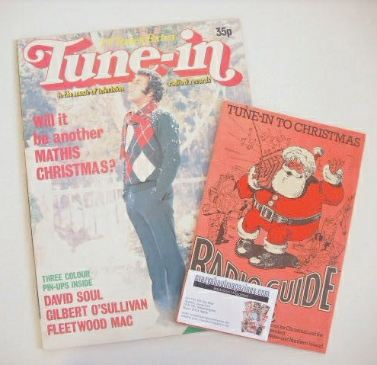 Tune-In magazine - Johnny Mathis cover (Christmas 1977)
