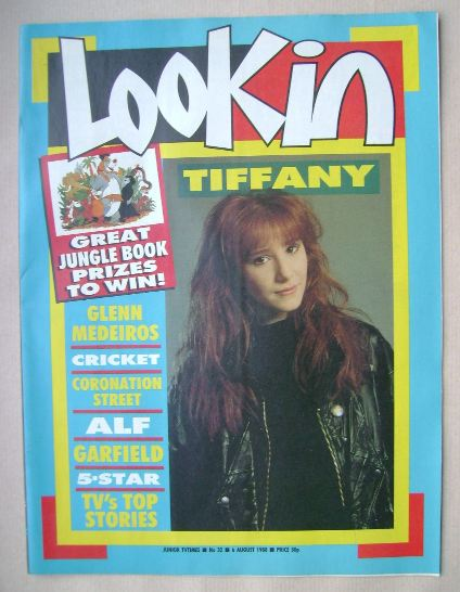 <!--1988-08-06-->Look In magazine - Tiffany Darwish cover (6 August 1988)