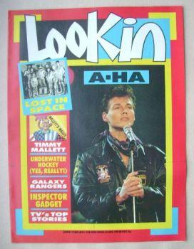 Look In magazine - Morten Harket cover (30 April 1988)
