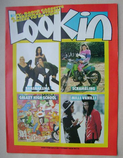 <!--1988-11-12-->Look In magazine - 12 November 1988