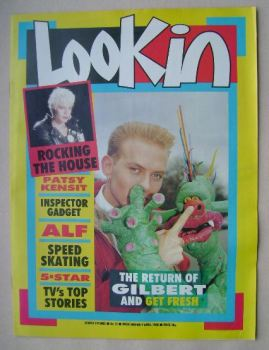 Look In magazine - Matt Goss cover (9 April 1988)