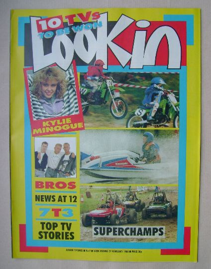 <!--1988-02-27-->Look In magazine - 27 February 1988