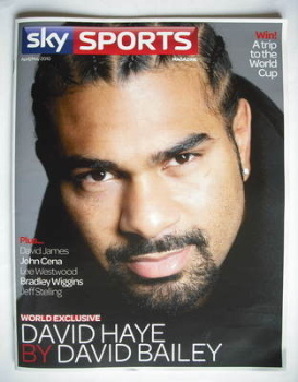 Sky Sports magazine - April/May 2010 - David Haye cover