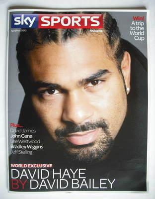 Sky Sports magazine - April/May 2010 - David Haye cover