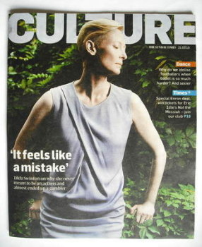 Culture magazine - Tilda Swinton cover (21 March 2010)