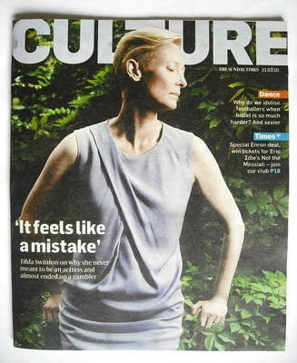 <!--2010-03-21-->Culture magazine - Tilda Swinton cover (21 March 2010)
