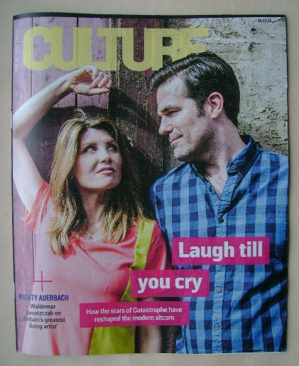 <!--2015-10-18-->Culture magazine - Sharon Horgan and Rob Delaney cover (18