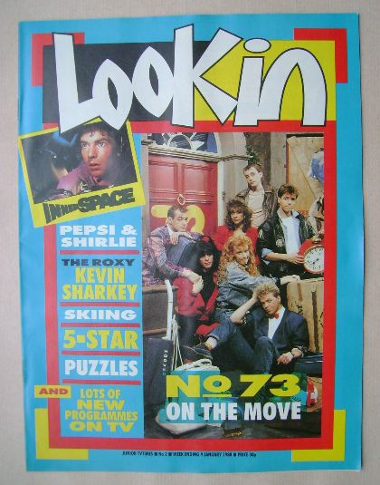 <!--1988-01-09-->Look In magazine - 9 January 1988