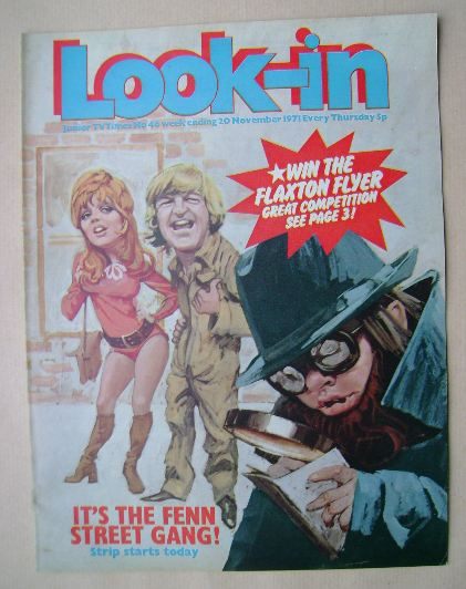 <!--1971-11-20-->Look In magazine - The Fenn Street Gang cover (20 November