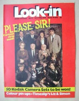 Look In magazine - Please Sir! cover (1 May 1971)