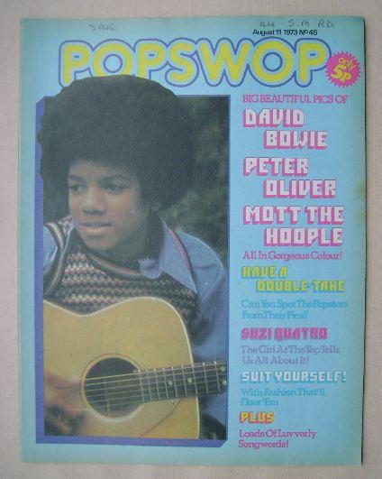 <!--1973-08-11-->Popswop magazine - 11 August 1973